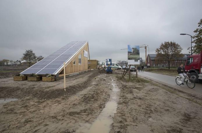 De SolarCabin in de Wageningse wijk Nieuw Kortenoord. Foto Herman Stöver