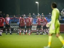 Jong PSV behoudt eerste plek, MVV blijft in spoor