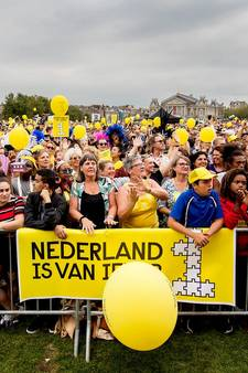 Duizenden mensen liepen mee in diversiteitsmars