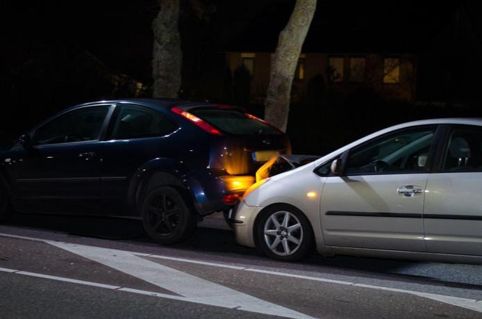 Het ongeluk gebeurde op de Ringbaan-oost in Zevenaar