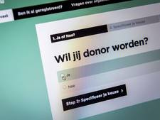 Massaal 'nee' in Donorweek