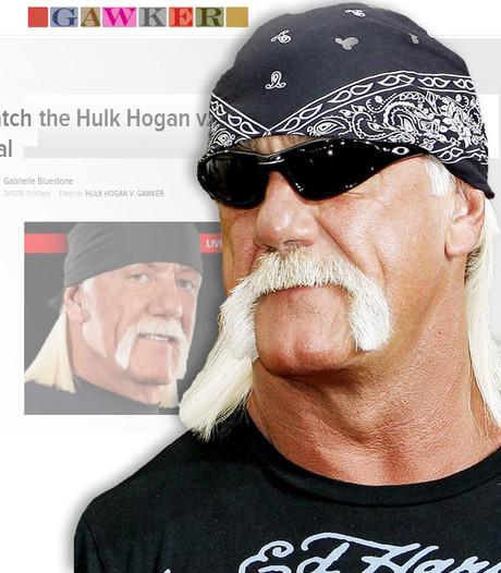 Gawker.com op zwart door sekstape Hulk Hogan