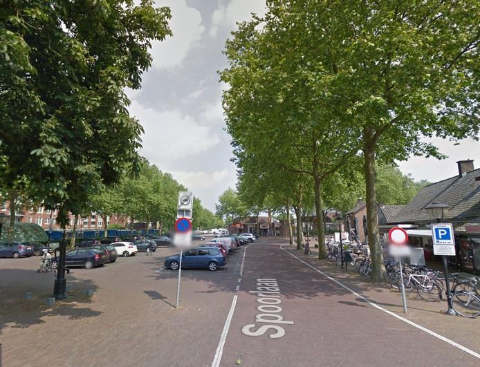 Het Marktplein aan de Spoorlaan in Groesbeek.