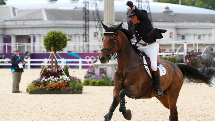 Peter Charles op Vindicat tijdens de Spelen in Londen.