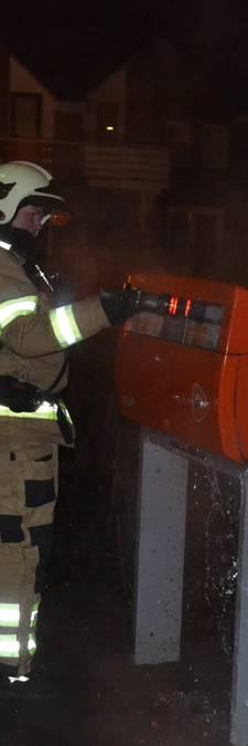 Post verloren door brand in brievenbus Huissen