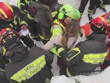 Acht mensen uit hotel gered na lawine