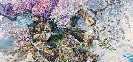 Japanse kunstenaar maakt grootste pentekening ooit