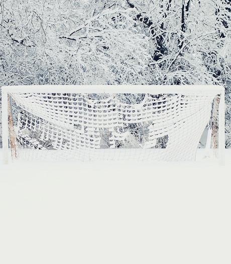 AZSV-CSV Apeldoorn afgelast vanwege sneeuw- en regenval
