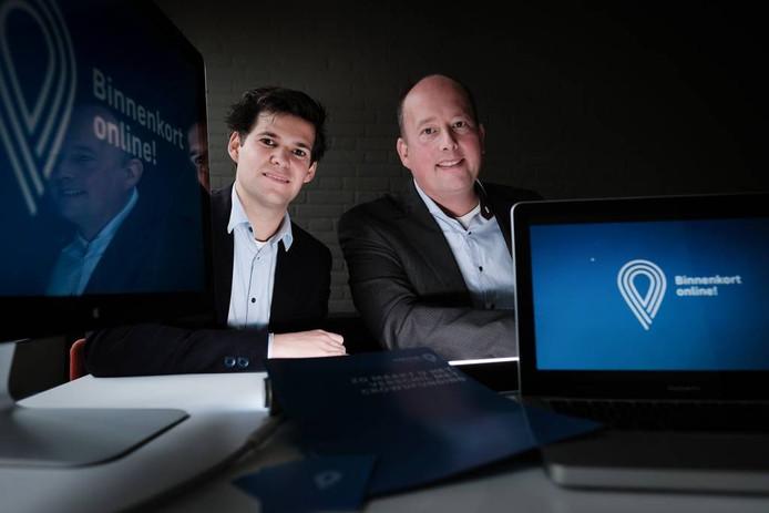 Thijs van der Heijden (links) en Ruben Tank. Foto Jan van den Brink