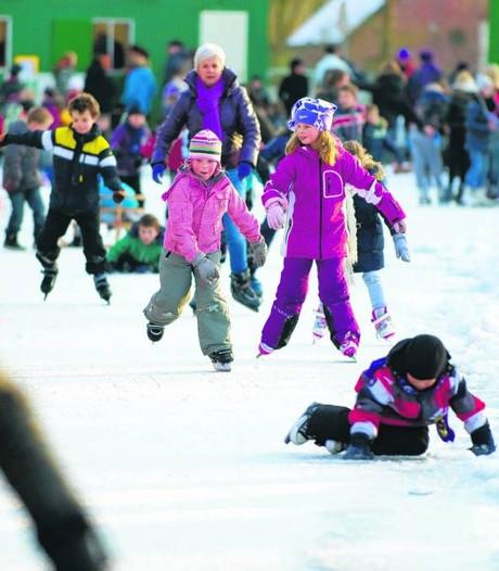 Druten krijgt nog deze week een ijsbaan