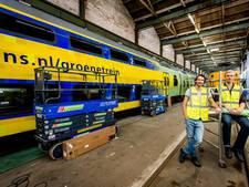 NS laat treinen al jaar eerder op groene stroom rijden