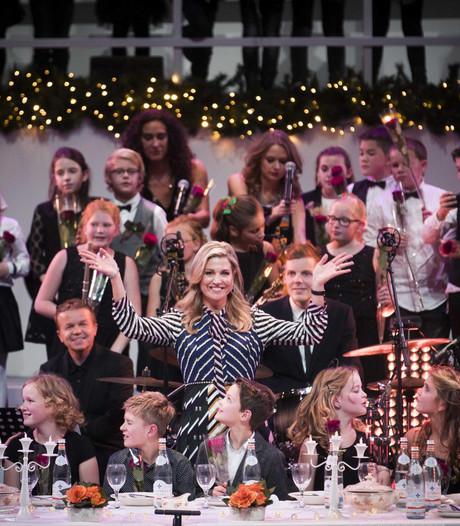 Utrechtse koorschool zingt voor Máxima in Carré
