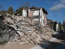 Italië neemt schade op na aardbevingen
