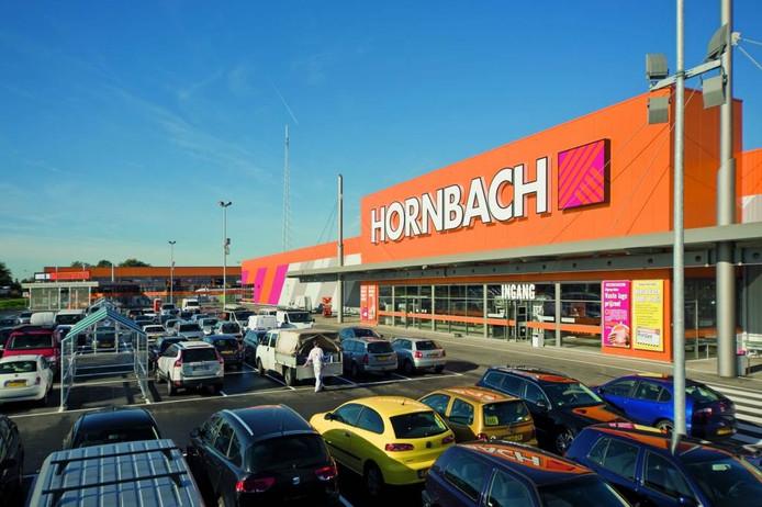 Een vestiging van Hornbach.