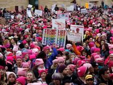 Miljoenen vrouwen wereldwijd demonstreren tegen Trump