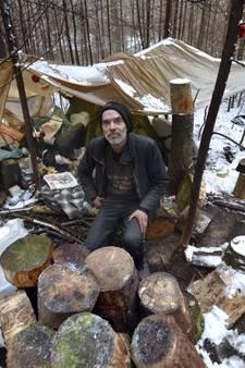 Dakloze Max vertrekt niet zonder advocaat uit het Amerongse bos