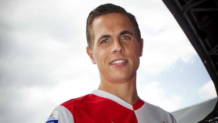 Wesley Verhoek in De Kuip.