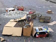 7.500 euro schade in Rheden tijdens jaarwisseling
