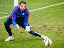 Krul meldt zich op trainingsveld Ajax