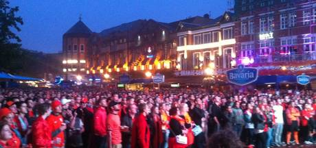 Alle wedstrijden van Oranje op grote schermen in Eindhoven