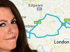 Uberchauffeur rijdt ruim 55 kilometer om met slapende comédienne