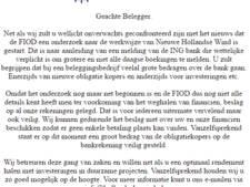Hollandsche Wind probeert beleggers gerust te stellen
