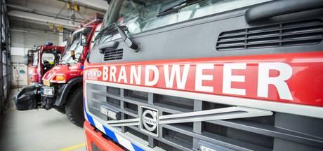 Bestelauto in brand op de Amsterdamsestraatweg