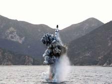 Noord-Korea test ballistische raket vanaf onderzeeër