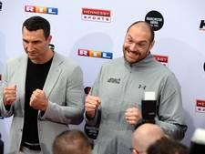 Rematch tussen Klitsjko en Fury uitgesteld