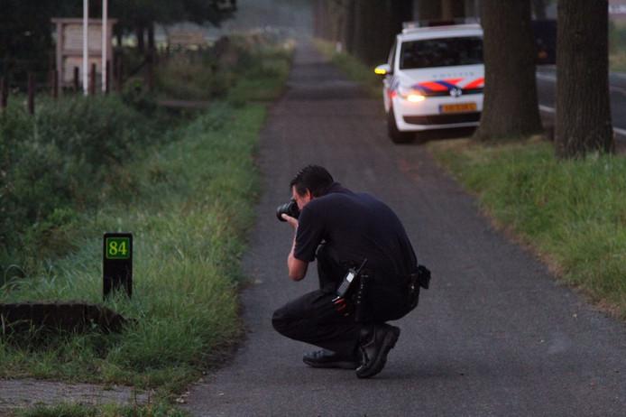 Politieonderzoek na de woningverval.