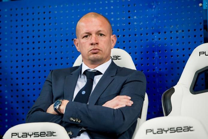 Jong De Graafschap-trainer Richard Roelofsen zag zijn team verliezen van Westlandia. Archieffoto