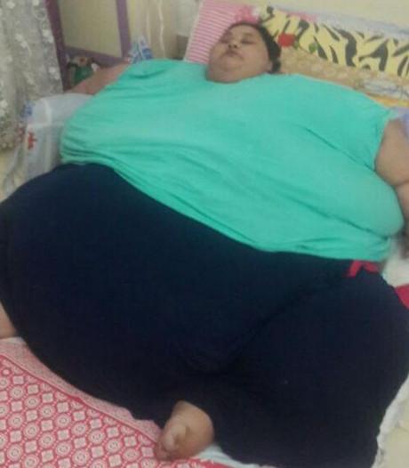 Zwaarste vrouw ter wereld (500 kilo) krijgt operatie
