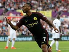 Manchester City blijft winnen in Engeland