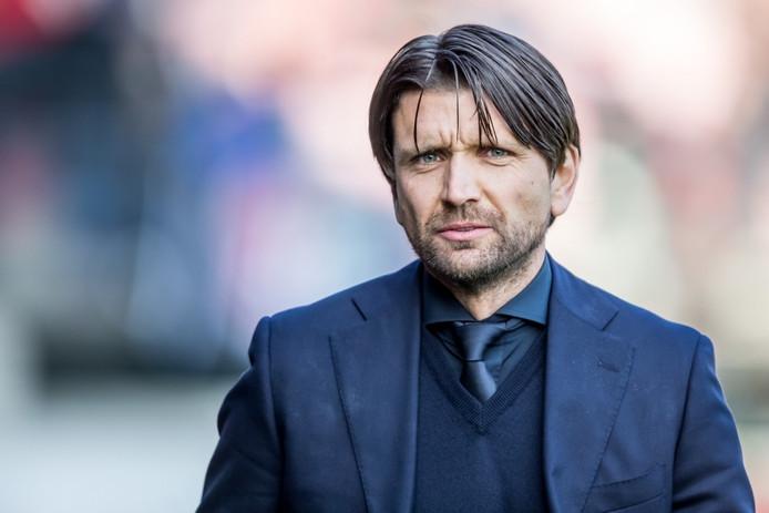 Trainer/coach Peter Hyballa van NEC.