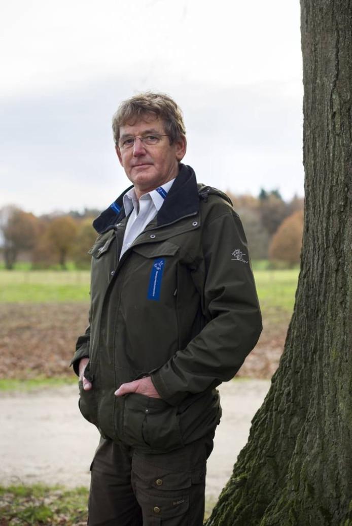 Jur Derksen (66) uit Rheden: 'Ik besef goed dat ik dan het visitekaartje van Natuurmonumenten ben'.