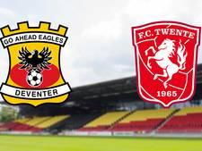 LIVE: Go Ahead ontvangt FC Twente in Deventer