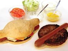 Vergeet de hotdog en de hamburger: hier is de hamdog
