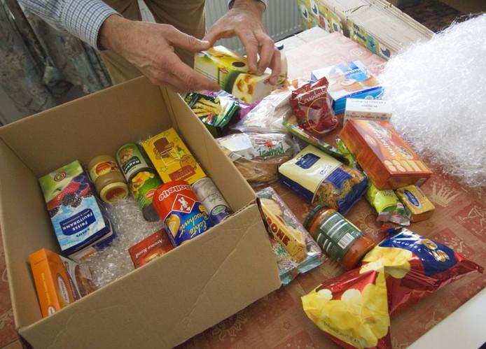 Voedselpakketten.