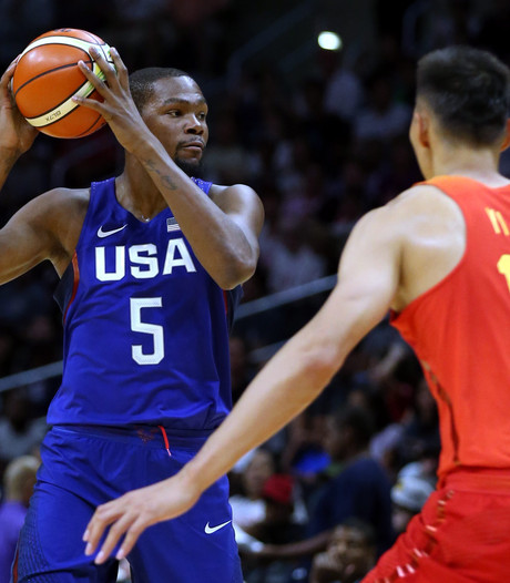 Basketballers Verenigde Staten klaar voor Spelen