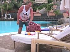 Frans Bauer kaapt ligbedden in luxe resort op Tenerife