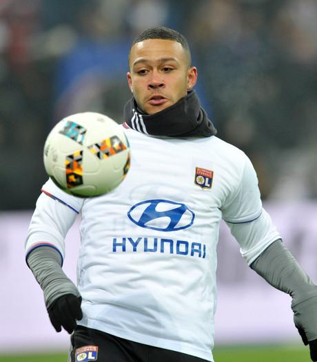 Memphis debuteert voor winnend Lyon tegen Marseille