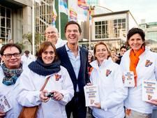 Rutte wil na verkiezingen opnieuw premier worden
