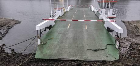 Pontje over Maas bij Cuijk gaat snel weer varen