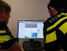 Politiegeheimen op straat door nalatigheid