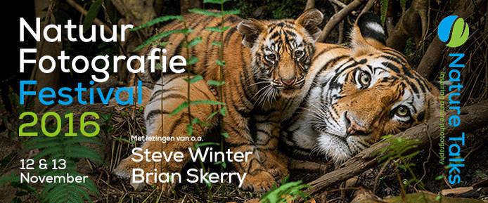 Het Nature Talks Photo Festival biedt een podium voor internationale en nationale natuurfotografen.