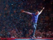 Coldplay treedt op tijdens noodweer in Chicago