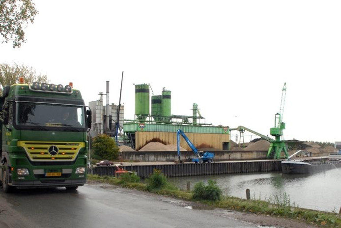Het terrein van Bruil in Wageningen. foto Do Visser/De Gelderlander