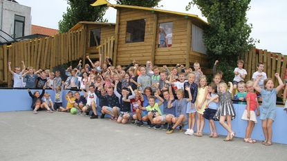Sint-Elooi start schooljaar met nieuw speelparadijs