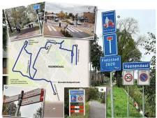 Mooie fietspaden in Veenendaal, maar waar gaan ze heen?