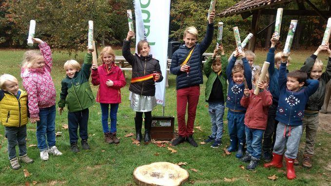 Kinderen ontdekken Bosland dankzij Bengelkaart